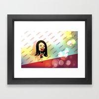 Rebecca Black Hits The R… Framed Art Print