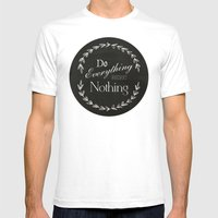 Do Mens Fitted Tee White SMALL