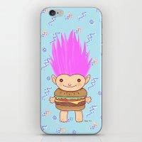 Hamburger Troll iPhone & iPod Skin