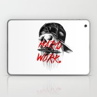 HARD WORK. Laptop & iPad Skin