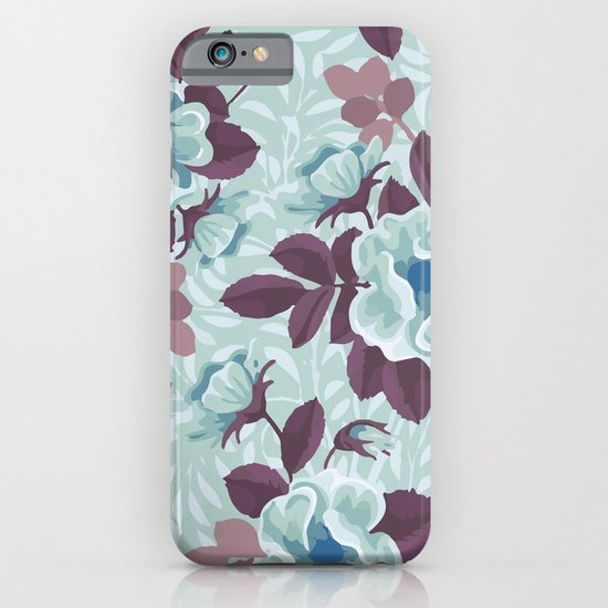 Retro Floral Pattern iPhone & iPod Case
