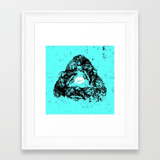 Receptical Framed Art Print