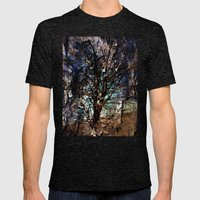 Broken Limbs Mens Fitted Tee Tri-Black SMALL