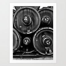 Wheel Stack Art Print