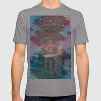 Lunar Arboretum Mens Fitted Tee Athletic Grey SMALL