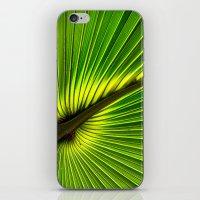 Green Burst iPhone & iPod Skin