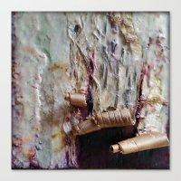 Peel My Skin; Expose The… Canvas Print