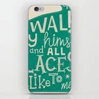 'The Cat That Walked By … iPhone & iPod Skin
