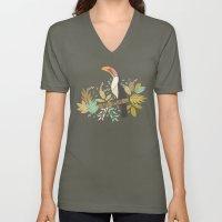 Forest Toucan  Unisex V-Neck