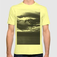 Winterton Storm Mens Fitted Tee Lemon SMALL