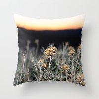 Sagebrush Throw Pillow