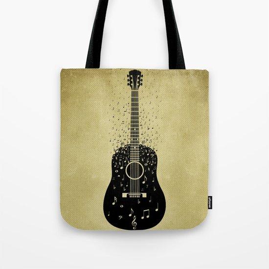 Musical ascension Tote Bag