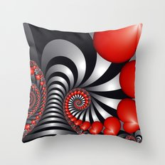 On the way to Happiness Throw Pillow