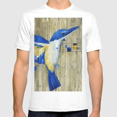 The Thing with Technology... SMALL White Mens Fitted Tee