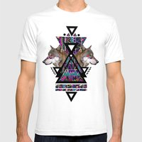 ADAHY  Mens Fitted Tee White SMALL