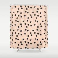 dots II Shower Curtain