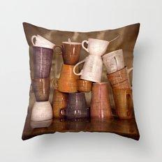 Cafehouse (without windows) Throw Pillow