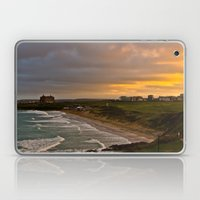 Cornish Seascape Newquay Cornwall Laptop & iPad Skin
