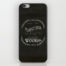 Over the Mountains iPhone & iPod Skin