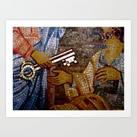 The Keys To Rome Art Print