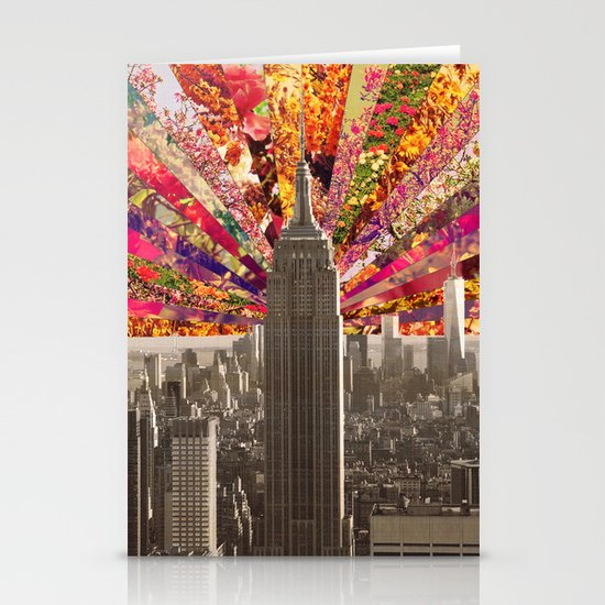 BLOOMING NY Stationery Card
