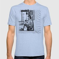 Tacoma Skater Mens Fitted Tee Athletic Blue SMALL