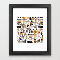 Pumpkin Pie !! Framed Art Print