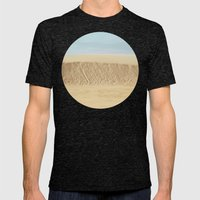 Dramatic Sand Dunes 2 Mens Fitted Tee Tri-Black SMALL