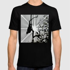 Magical bat Black SMALL Mens Fitted Tee