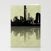 Skyline Reflections Stationery Cards