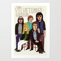 The Velvet Underground Art Print