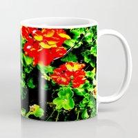 Red Flowers (Edited)  Mug