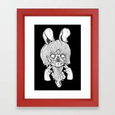 Gang sign. Framed Art Print