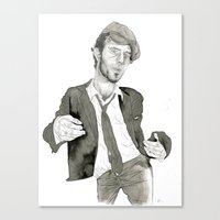 Tom Waits: The Early Yea… Canvas Print