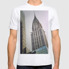Chrysler Mens Fitted Tee Ash Grey SMALL