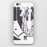 Cara And Her Horse iPhone & iPod Skin