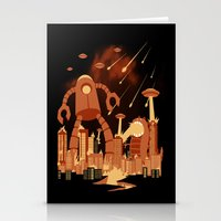 Armageddon Stationery Cards