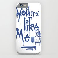 iPhone & iPod Case featuring You Like Me by Hi ! Kub