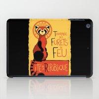 Les Furets de Feu iPad Case