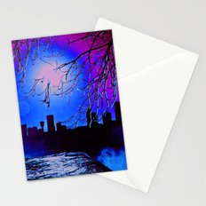 pink sky :o Stationery Cards