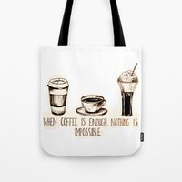 Coffee empowerment  Tote Bag