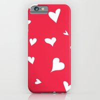 apparently, I'm the queen of hearts iPhone 6 Slim Case
