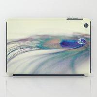 Peacock Drop iPad Case