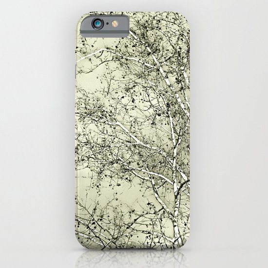 Sycamore Tree, Inky Green Toile Version iPhone & iPod Case