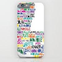Louisiana Typography iPhone 6 Slim Case
