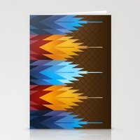 Navajo Fire & Ice Stationery Cards