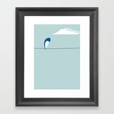 The Bird Framed Art Print