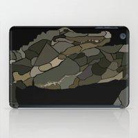 Mellifluous Crocodiles iPad Case
