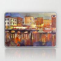 Night In Venice Part 2 Laptop & iPad Skin