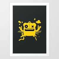 Monster Art Art Print